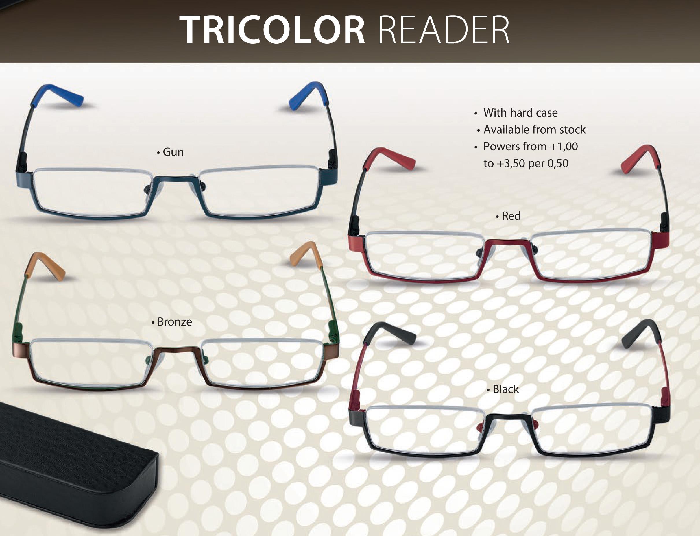Tricolor Flex Reader